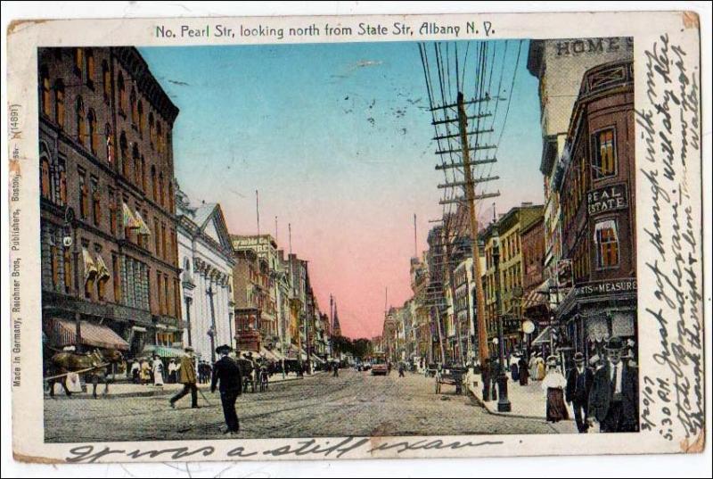 No. Pearl Street, Albany NY