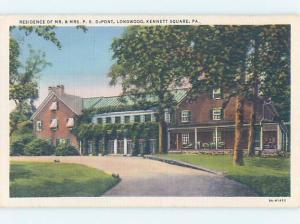 Unused Linen HISTORIC HOME Kennett Square - Near Philadelphia PA d0831
