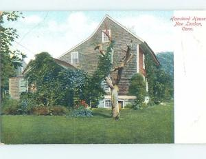 Bent Corner Pre-1907 HISTORIC HOME New London Connecticut CT d2277