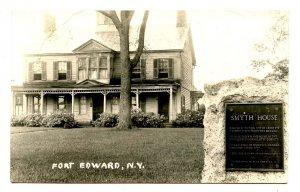 NY -  Fort Edward. Smyth House      *RPPC