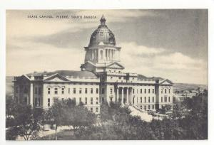 SD Pierre South Dakota State Capitol Mayrose Co Vintage 1940s Postcard