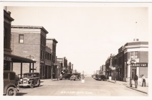 RP: MACLEOD , Alberta , Canada , 1920-30s ; Main Street