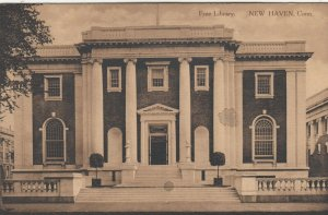 NEW HAVEN , CT , 1900-10s ; YALE ; Free Library
