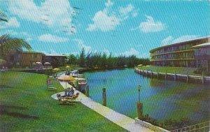 Florida Coral Gables University Court Motel 1957