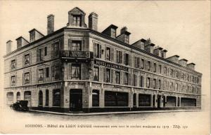 CPA SOISSONS Hotel du lion rouge (191979)