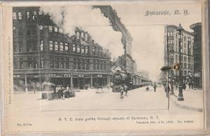 Syracuse NY 13 Vws: Bastable Theatre~James St~Yacht Club~Hall of Languages