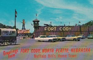 Nebraska North Platte Greetings From Fort Cody Trading Post Buffalo Bill'...