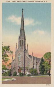 South Carolina Columbia First Presbyterian Church
