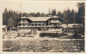 RP; Lewis Glacier Hotel , Lake Mcdonald , Glacier National Park ,Montana , 1910s