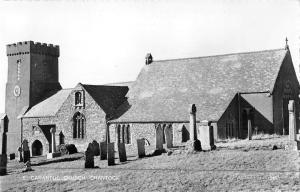 uk19040 carantoc church crantock real photo uk