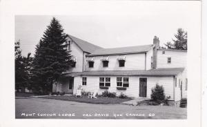RP: Mont Condor Lodge , VAL-DAVID , Quebec , Canada , 1953