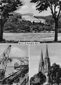 Regensburg Walhalla Dom Donauhafen Harbour Ship Schiff Cathedral