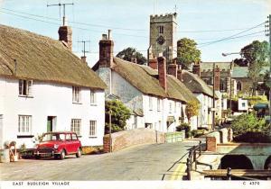 Postcard EAST BUDLEIGH Village Devon by Judges Ltd