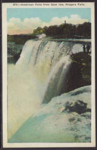 American Falls From Goat Isle,Niagara Falls,NY