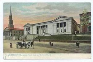 Court House, Worcester, Mass., 00-10s