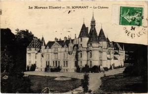 CPA AK Sommant - Le Chateau (518325)