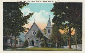 LAKE GEORGE, New York, 00-10s; Sacred Heart Catholic Church