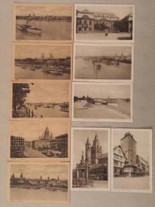 Lot 10 vintage postcards Germany Mainz Allemagne Mayence
