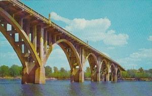 Scenic Garrison Avenue Bridge Arkansas River Fort Smith Arkansas