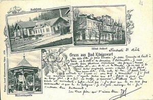 VINTAGE POSTCARD: Czech Republic - Kynžvart  Königswart