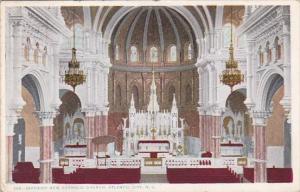 New Jersey Atlantic City Interior New Catholic New Catolic Church 1912