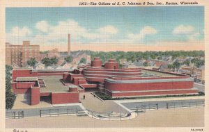 RACINE, Wisconsin, 1930-1940's; The Offices Of S.C. Johnson & Son, Inc.