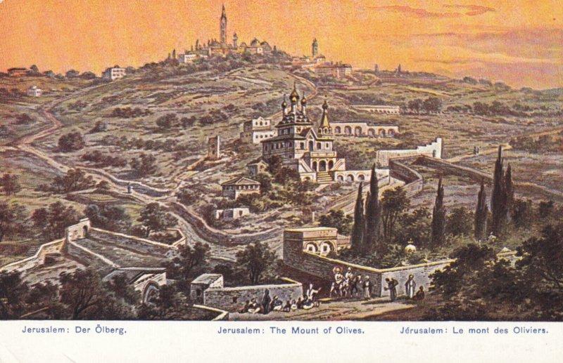 JERUSALEM , Israel , 00-10s ; The Mount of Olives