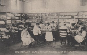 MOOSEHEART , Illinois, 00-10s ; Sewing & Dressmaking Class