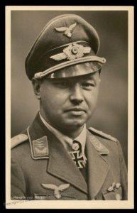 3rd Reich Germany Hauptmann Hahn Ritterkreuztraeger RKT Hoffmann 1544 RPP 100353