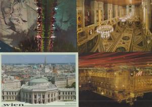 Wien Vienna Luzern Theatre Opera House 4x Postcard s