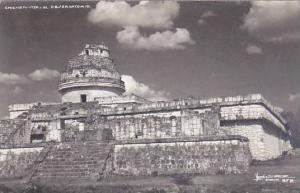 Mexico Merida Yucatan El Observatorio Ruinas Chichen-Itza Real Photo
