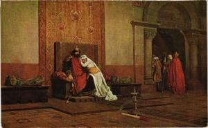 CPA AK J.P. LAURENS L'excommunication de Robert Pieux M. de Luxembourg (286683)