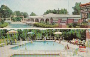 Mississippi Vicksburg Magnolia Motor Hotel 1959