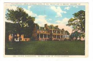 Claymount, Near Charles Town, Recent Home of Frank Stockton, W. Virginia, 0...
