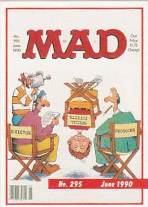 Lime Rock Trade Card Mad Magazine Cover Issue No 295 June 1990