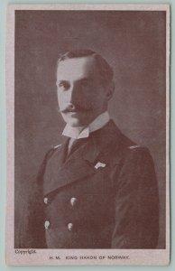 Royalty~H M King Haakon VII of Norway~Struggled Against The Nazi Regime~RPPC
