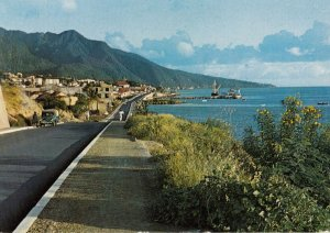 BASSE-TERRE , Guadeloupe , 1970-80s ; road