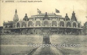 Ostende, Belgium, België, la Belgique, Belgien Le Kursaal, Façade Prinicpal...