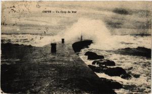 CPA  Cette - Un Coup de Mer  (511133)