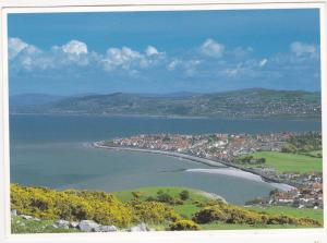Postcard Wales Gwynned Ross on Sea and Colwyn Bay