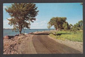 Scenic Shore Drive Whitney, Ontario - 1960s Unused