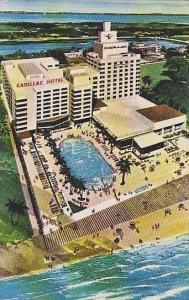 Florida Miami Beach The Cadillac Hotel Ocean Front