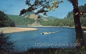 Mail Boat - Rouge River, Oregon