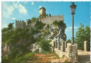 Republic of San Marino, First Tower, unused Postcard