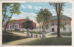 Cochran Hall And Gymnasium, Allegheny College, MEADVILLE, Pennsylvania, 10-20s