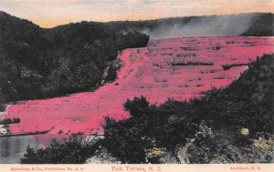 Pink Terrace, New  Zealand, Early Postcard, Unused