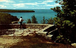 Wisconsin Door County Lookout Point Peninsula State Park