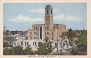 REGINA , Saskatchewan , Canada 30-40s ; Federal Building