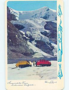 Unused Pre-1980 TOWN VIEW SCENE Columbia Ice Field - Banff - Jasper AB p9086