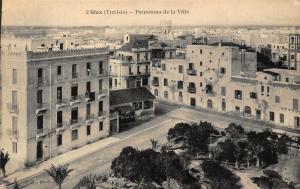 Tunisia Sfax Tunisie Panorama de la Ville General view postcard